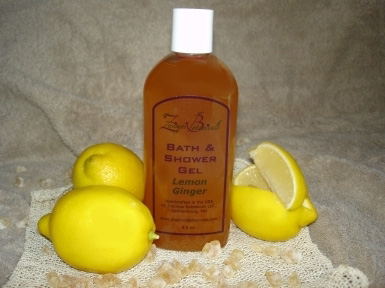 Lemon Ginger Shower Gel - from Zosimos Botanicals