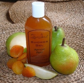 Apricot and Pear Shower Gel 4 oz.