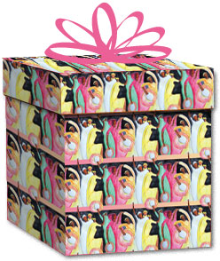100% Recycled Wrapping Paper - Holiday Dance