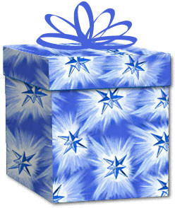 100% Recycled Wrapping Paper - Shining Star