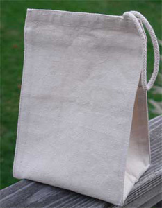 Natural Cotton Canvas Lunch Bag - from ECOBAGS®