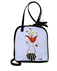 Cross Body Bag, Marilyn by Artist Sharon Watts