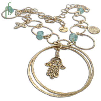 Gypsy Necklace Hamsa