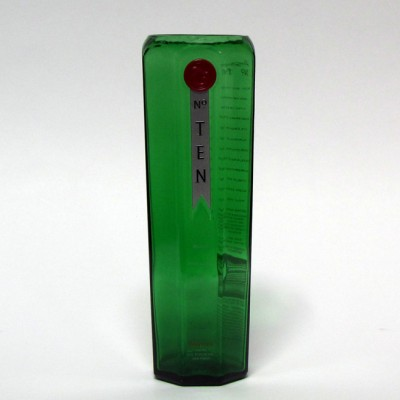 Tanqueray No. Ten Gin Vase from Recycled Bottles