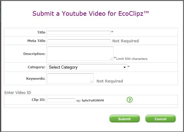 EcoClipz Screen